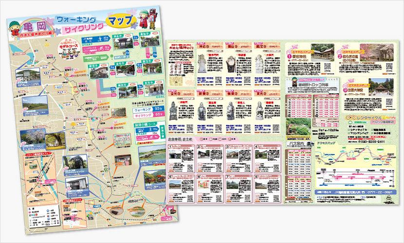 亀岡ウォーキング・サイクリングマップ
