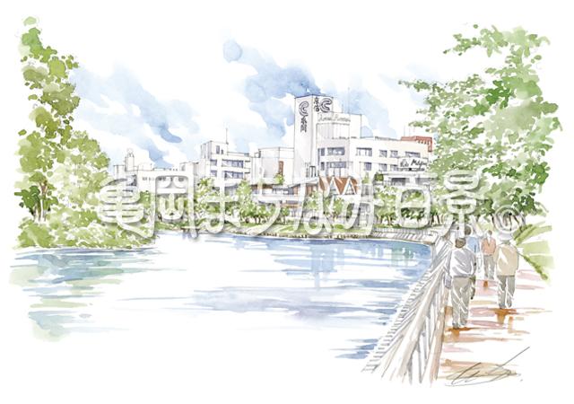 063 「南郷のお堀」周辺 市民の美化活動