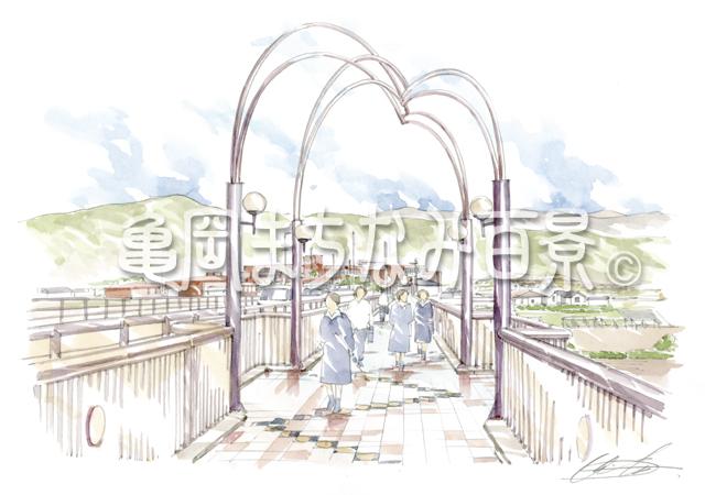 """066 """"月読む橋""""と""""丹の国の学び舎""""(南丹高校)"""