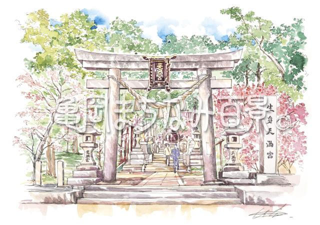 101 日本最古の天満宮 生身天満宮