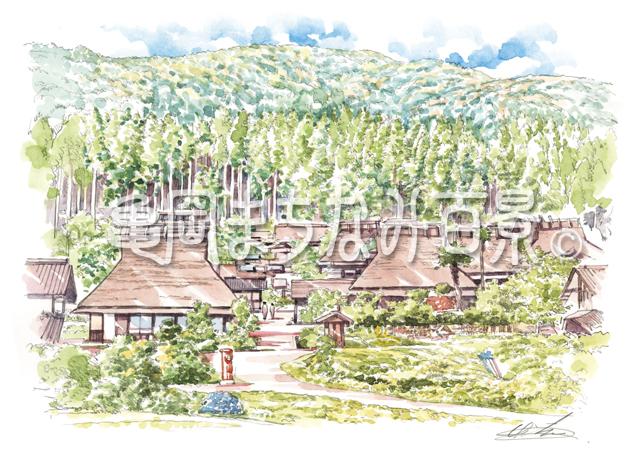 105 日本の原風景に出会える美山かやぶきの里