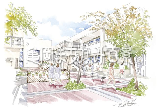 071 亀岡市立詳徳中学校